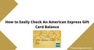 How to Check American Express Gift Card Balance